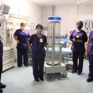 TMC Bonham Hospital adds Rapid Disinfector™ UV Disinfection System
