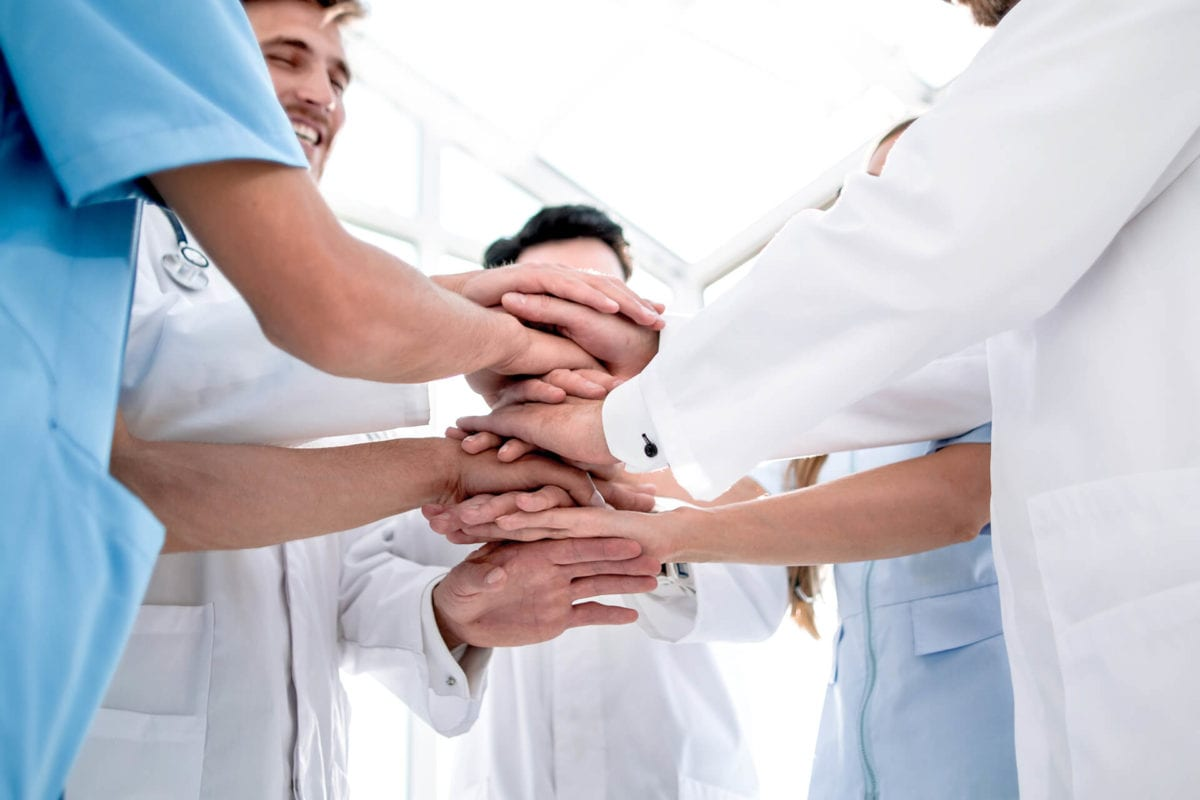 communicating with hospital staff about disinfection