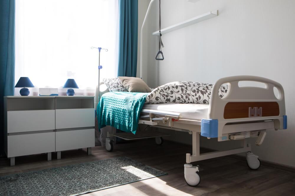 Long Term Care Facility room
