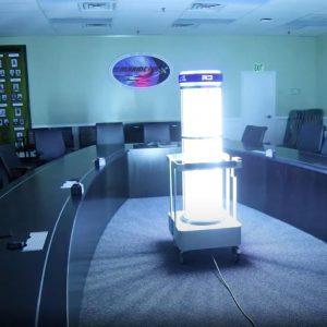 US Navy Begins UVC Disinfecting Pilot Program using RD UVC System